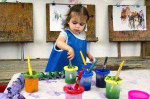 아동의 예술적 재능을 키우는 기술을 탐구하자