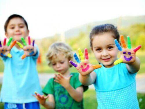 유치원에서 아동의 예술적 재능 고무하기