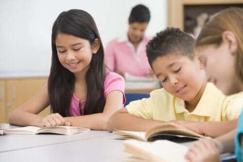 교실에서 독서를 증진하는 활동
