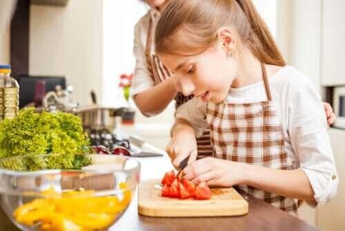 요리 기술의 습득