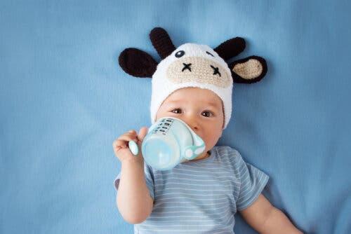 모유 및 분유에 대한 공식 데이터