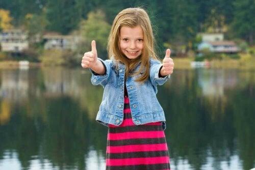 아이가 긍정적으로 하루를 시작하도록 돕는 인용문