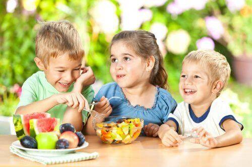 아이 건강에 좋은 간식