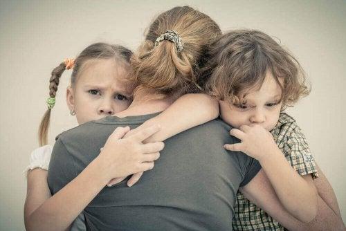 부모의 불안이 아이에게 영향을 미칠 때