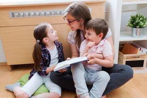 어린이의 언어 자극을 위한 팁