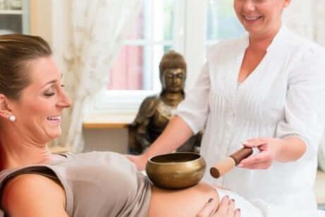 임신 중 음악 치료의 효능