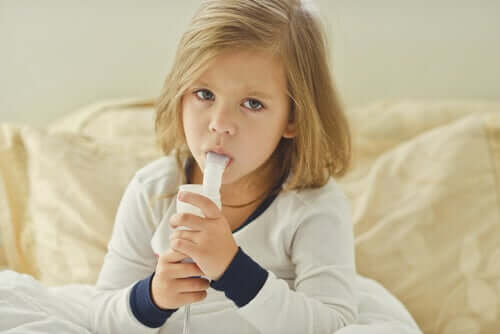 아이의 기관지염을 완화하는 방법