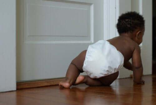 아기의 생후 첫해에 일어나는 다섯 번째 발달 단계