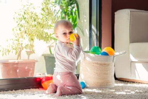 아기의 생후 첫해에 일어나는 네 번째 발달 단계