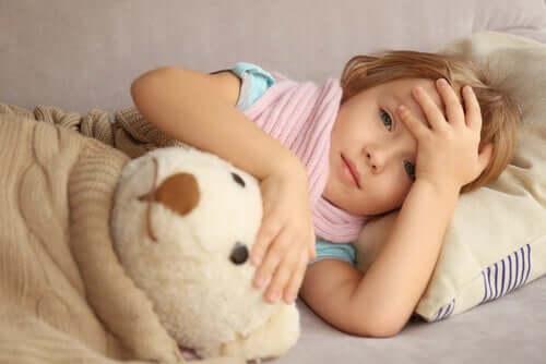 어린이 두통의 원인 및 치료법