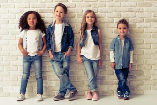 아이 옷을 선택하는 방법