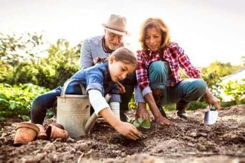 자녀가 조부모를 기억하도록 돕는 4가지 방법