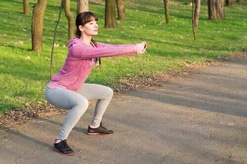 골반 기저근을 강화하는 운동