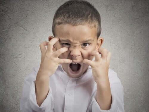 아이의 울화 행동 5가지