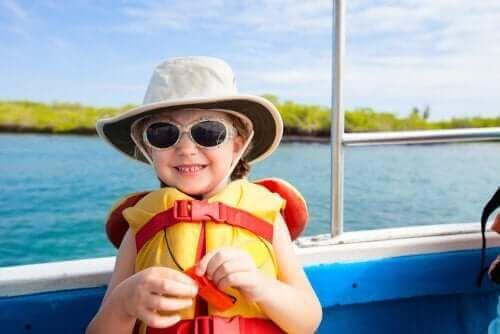 아이와 배를 탈 때 안전 수칙