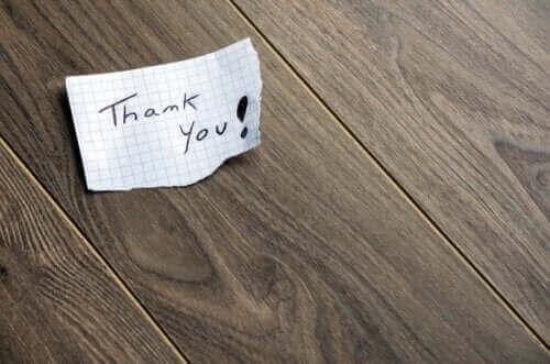 감사 노트를 올바르게 사용하는 방법