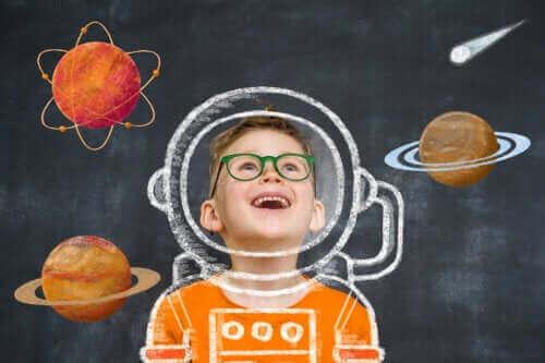 잔니 로다리의 언어 창의력 발달
