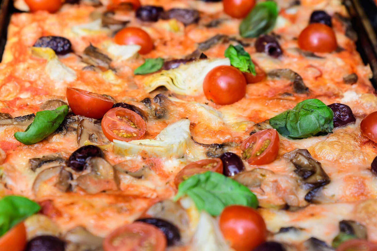 건강한 간편식 피자