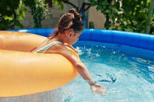 간이 수영장의 4가지 위험