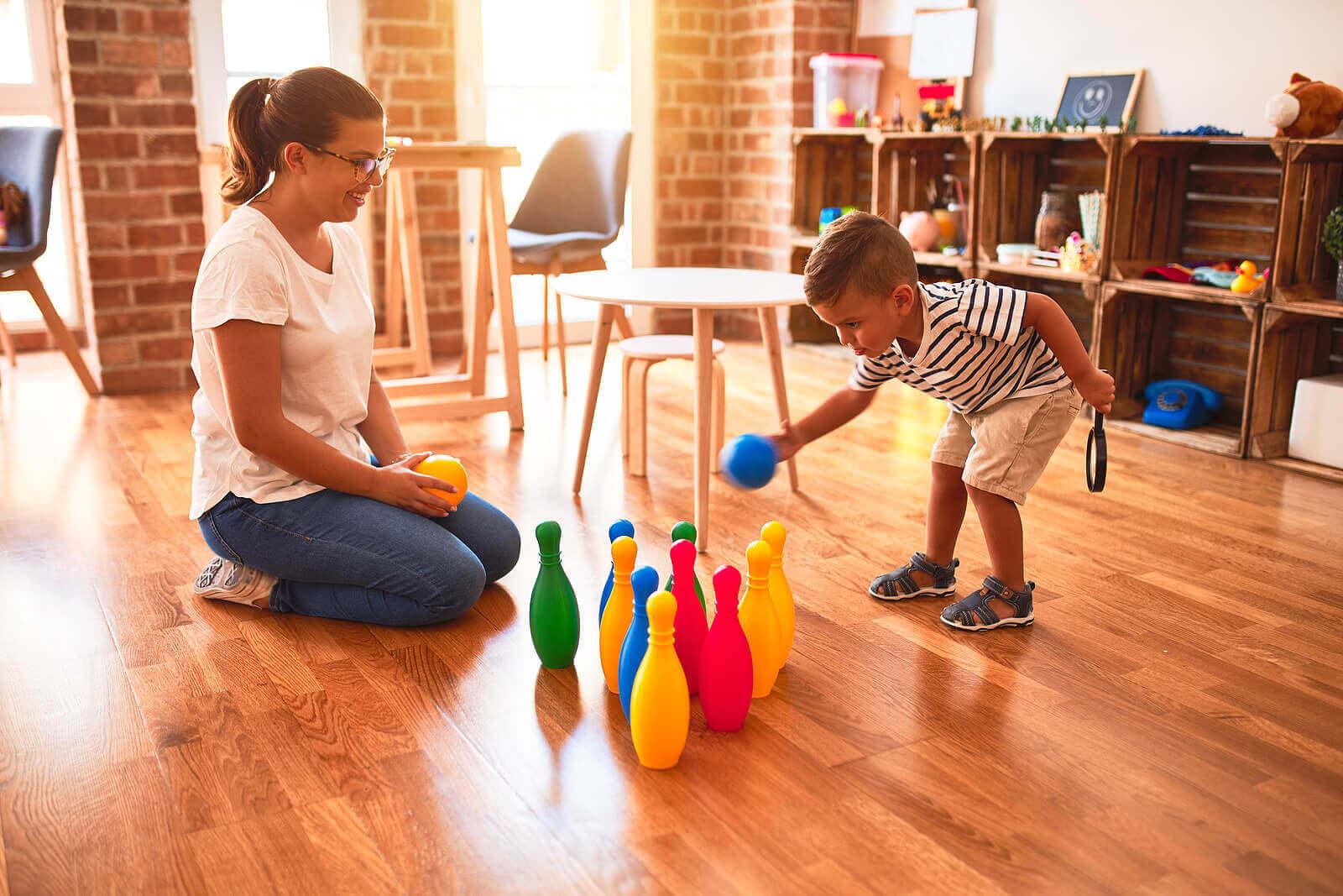 대근육 운동 기술 개발을 돕는 8가지 게임
