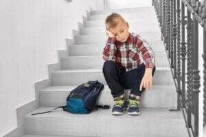학교 공포증을 가진 아이를 돕는 방법