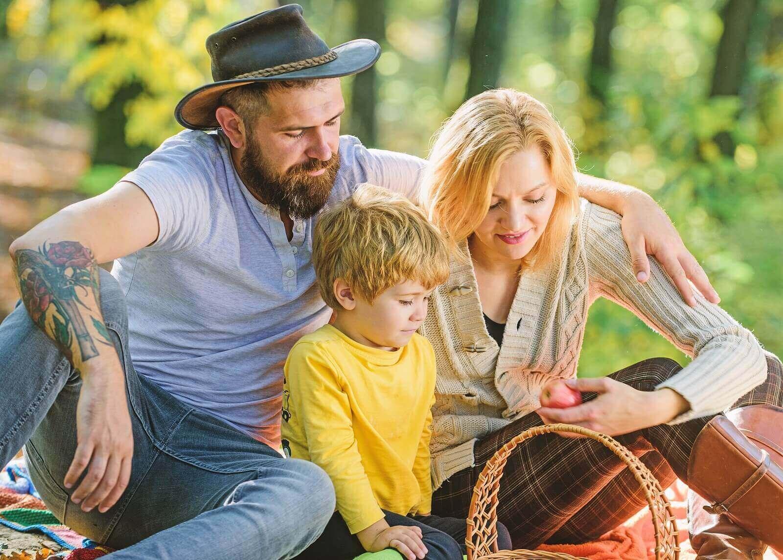가족 소풍을 갈 때 무엇을 가져가야 할까?