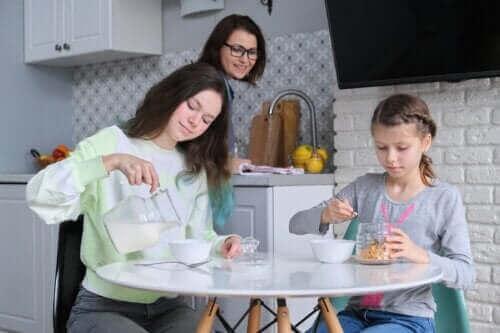 아침 식사를 거르는 청소년의 건강 위험
