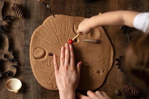 점토 놀이를 통한 어린이 자극