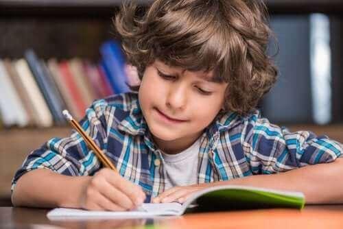 몬테소리 교육법을 통한 쓰기 학습