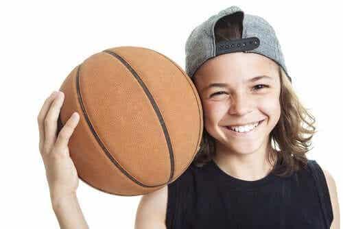 어린이를 위한 농구의 이점