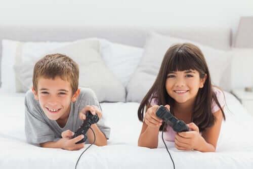 어린이를 위한 비디오 게임의 이점