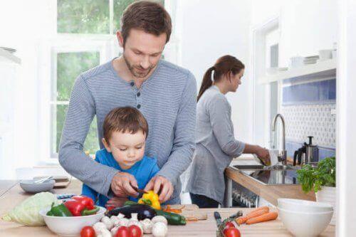 아이와 함께 요리하면 좋은 이유 6가지