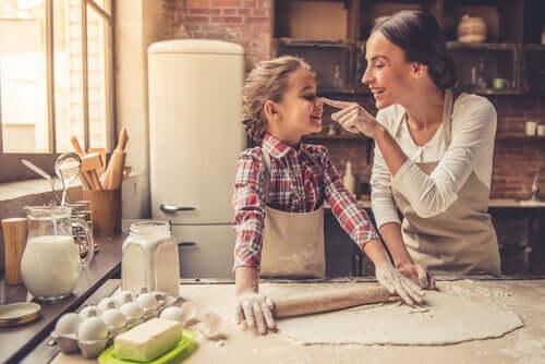 요리는 자녀의 상상력을 자극할 수 있다
