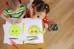 2차 감정은 어린이에게 어떻게 나타날까?