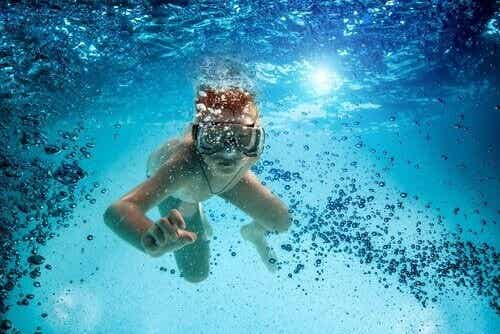 어린이가 스쿠버 다이빙을 하면 좋은 점