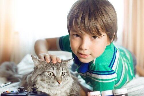 아이들이 동물을 사랑하는 이유