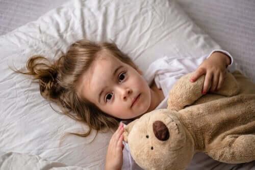 매우 흔한 수면 장애, 어린이 몽유병