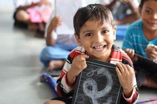 자기효능감이 있는 어린이와 없는 어린이의 차이