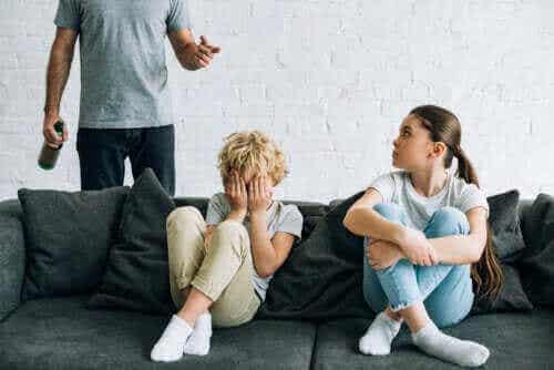알코올 중독 부모님 밑에서 자란 아이들