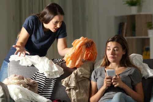 청소년이 집안일을 안 하려고 하는 이유