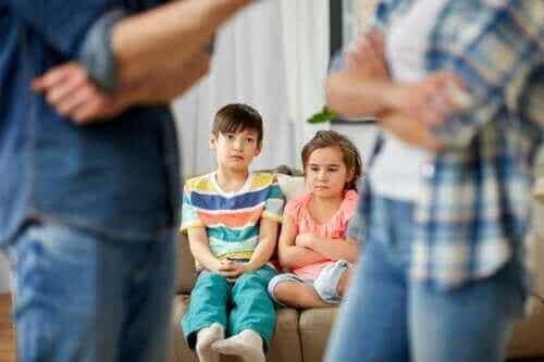 아이들 앞에서 화해하는 것이 중요한 이유