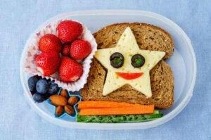 아이들을 위한 오후 간식에는 반드시 채소가 포함되어야 한다