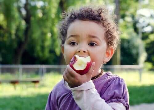 아이들을 위한 건강한 오후 간식