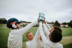 아이들이 스포츠를 통해 내면의 영웅을 찾도록 도와주자