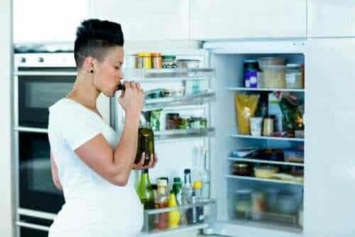 임신 중 가장 당기는 음식